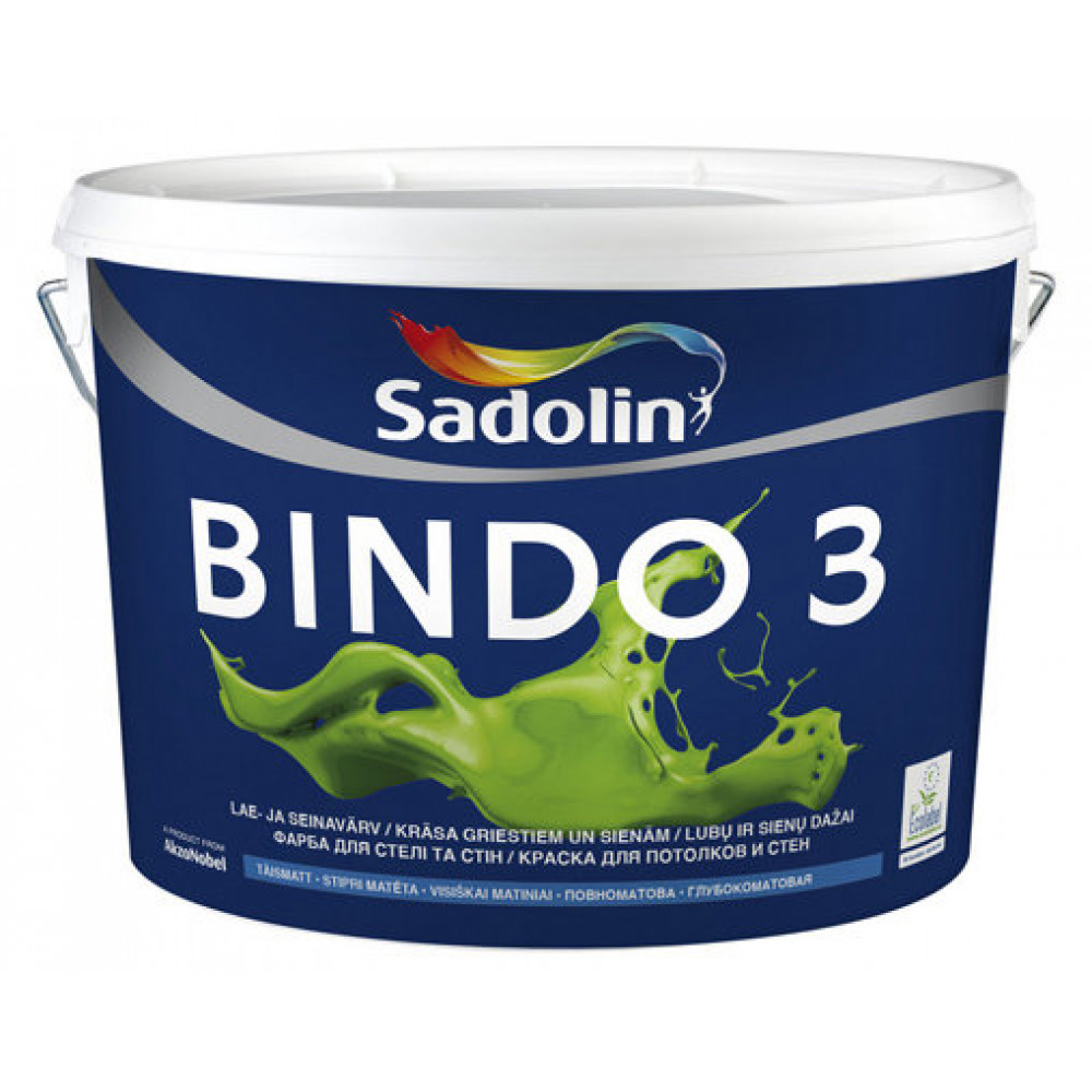 Латексная краска Sadolin Bindo 3 Белая
