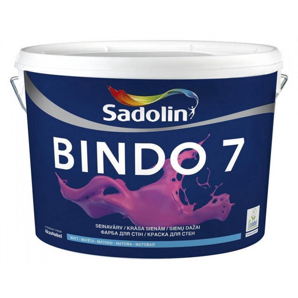 Латексная краска Sadolin Bindo 7 Белая