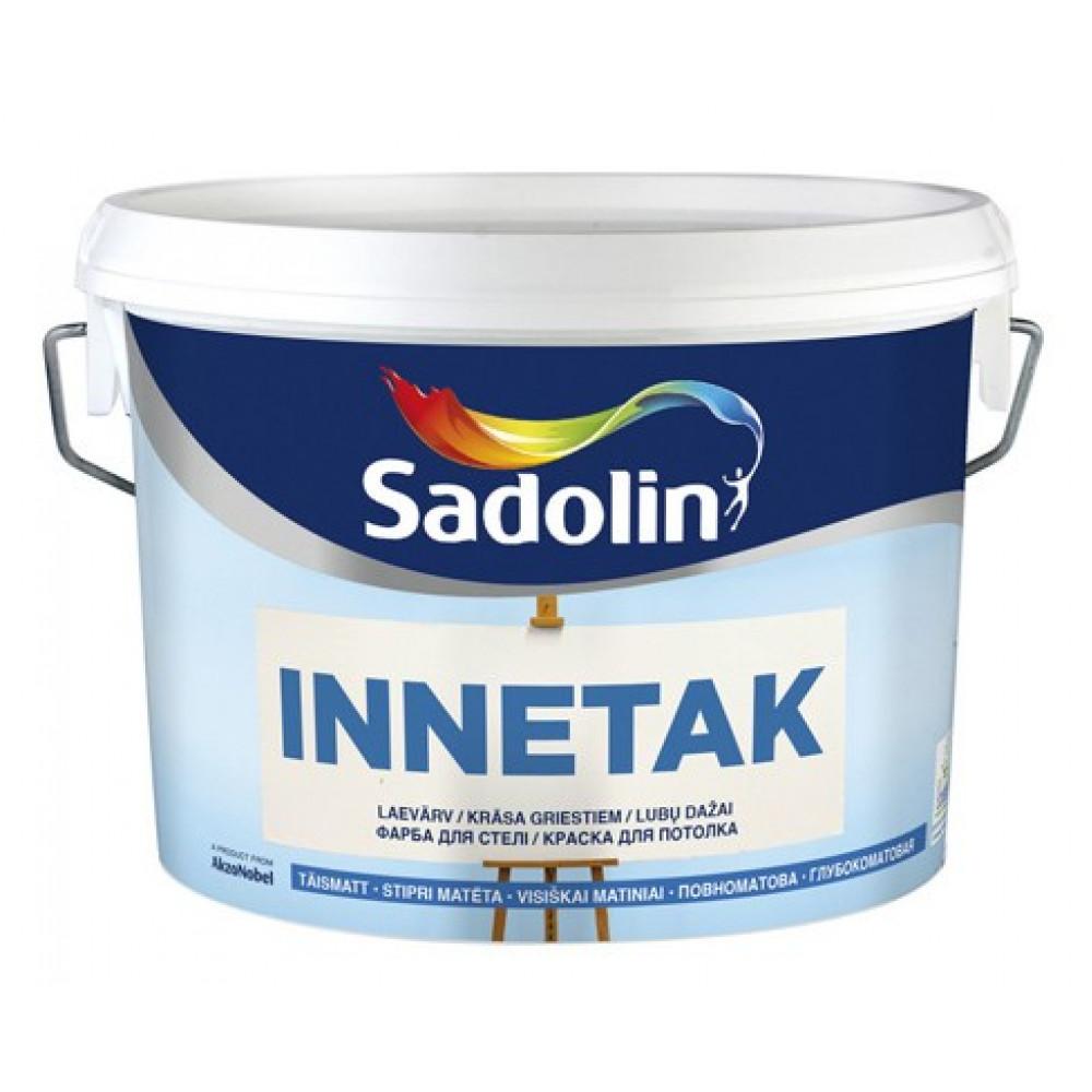 Краска для потолка Sadolin Innetak Белая