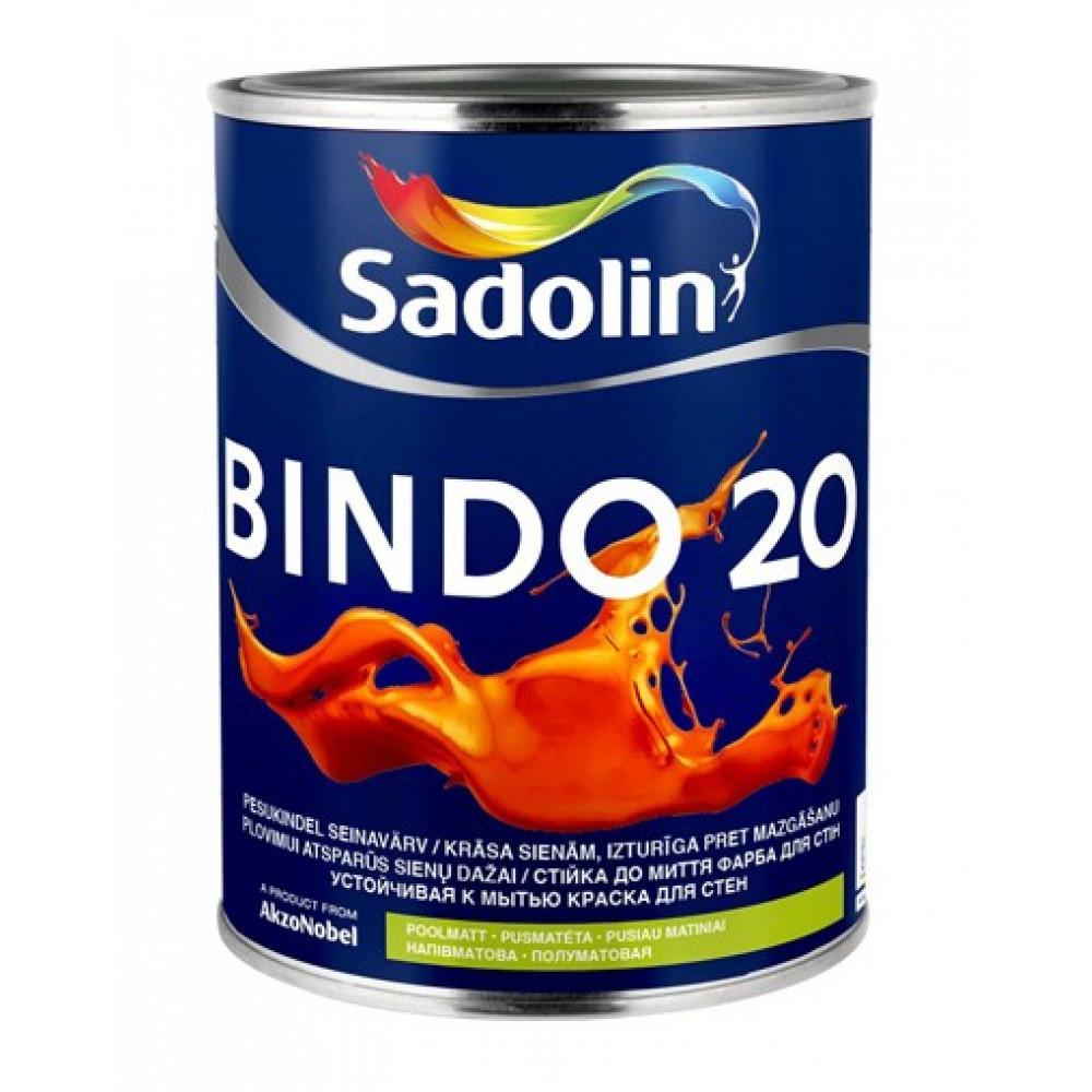 Влагостойкая краска Sadolin Bindo 20 Белая