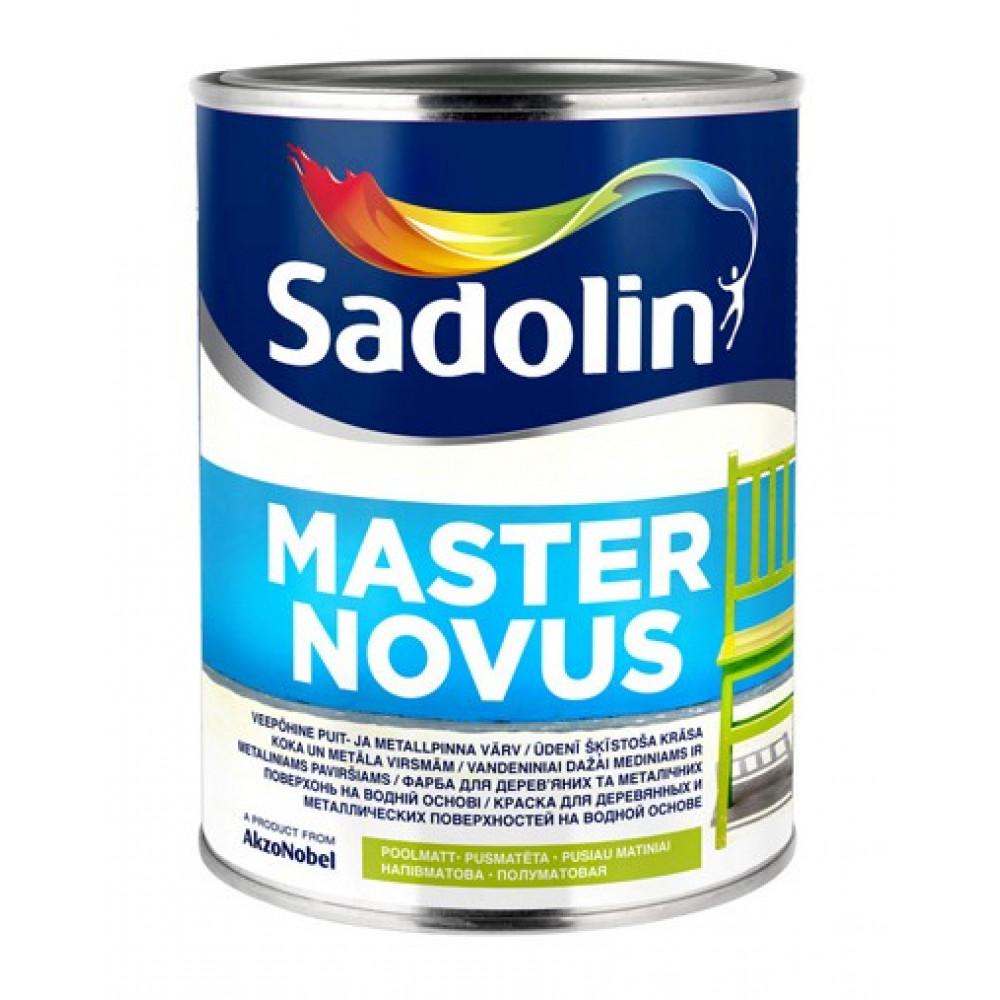 Алкидная краска на водной основе Sadolin Master Novus Белая