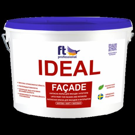 Атмосферостойкая латексная краска для фасада FT Professional Ideal Facade