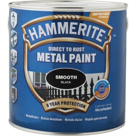 Краска по металлу HAMMERITE (гладкая)