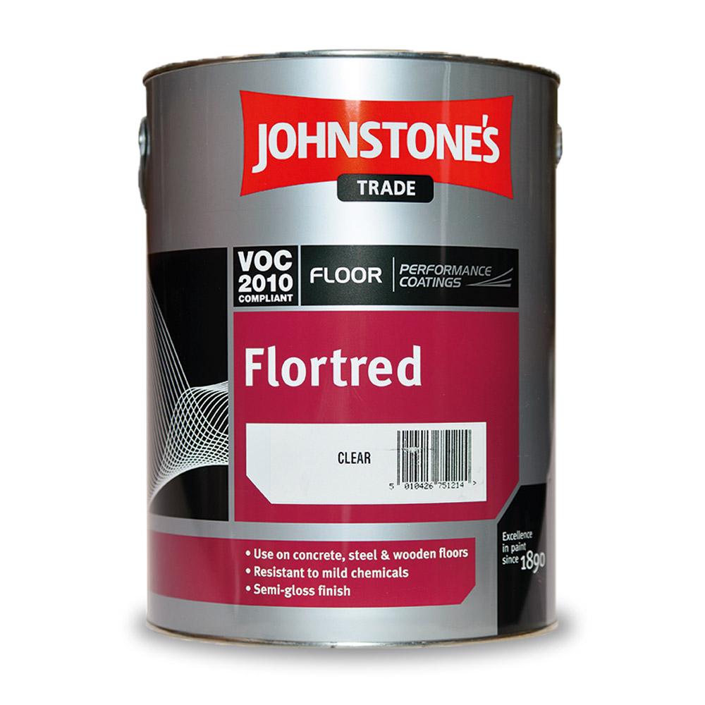 Краска для пола Johnstones Flortred