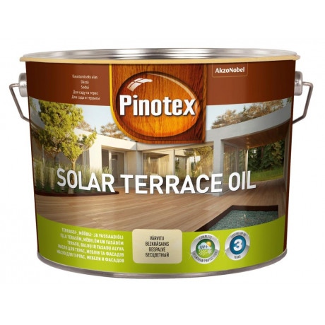 Деревозащитное масло Pinotex Solar Terrace Oil Бесцветный