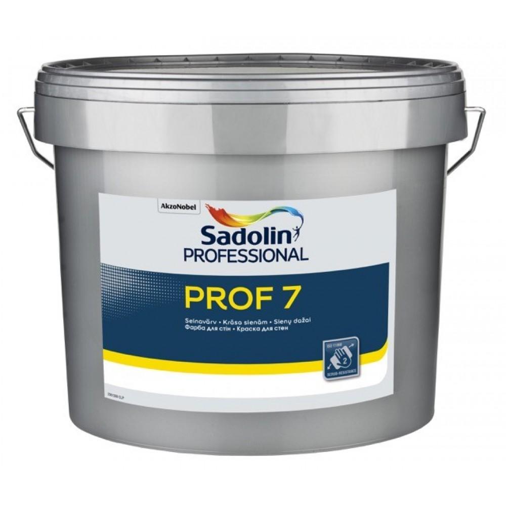 Латексная краска Sadolin Prof 7 Белая