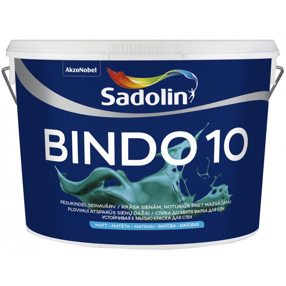 Акриловая краска Sadolin Bindo 10 Белая
