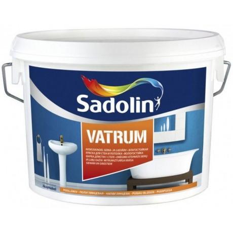 Влагостойкая краска Sadolin Vatrum Белая
