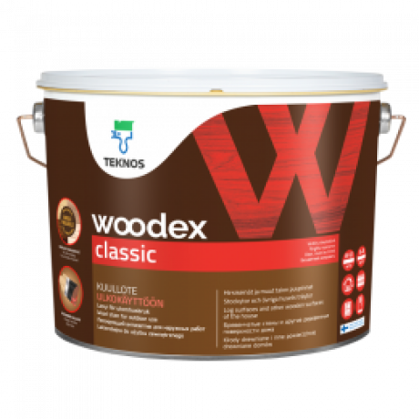 Лессирующий антисептик Teknos Woodex Classic