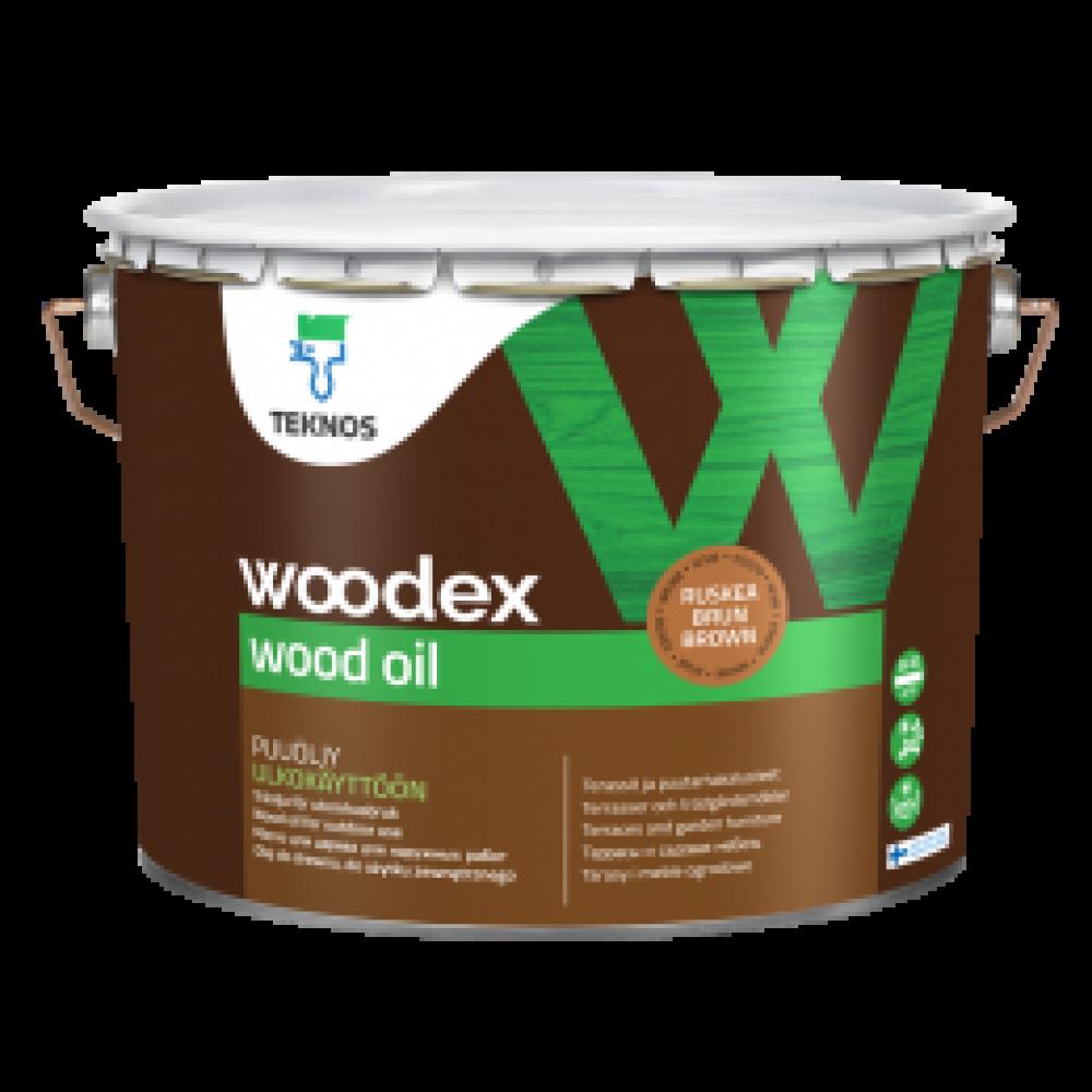 Деревозащитное масло Teknos Woodex Wood Oil